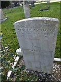 TQ3355 : Caterham Cemetery:CWGC grave (ii) by Basher Eyre