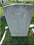 TQ3355 : Caterham Cemetery:CWGC grave (iv) by Basher Eyre