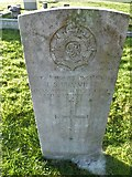 TQ3355 : Caterham Cemetery:CWGC grave (x) by Basher Eyre