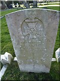 TQ3355 : Caterham Cemetery: CWGC grave (xiii) by Basher Eyre
