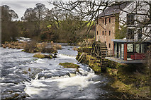 NX9479 : East Cluden Corn Mill by James Johnstone