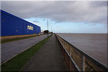 TA0626 : Trans Pennine Trail at St Andrews Quay, Hull by Ian S