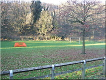 SD9726 : Sports field off Halifax Road (A646) by JThomas