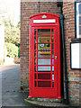 TM3891 : Defibrillator in K6 telephone box by Evelyn Simak