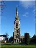 TL2696 : The spire of St Mary's church, Whittlesey by Richard Humphrey