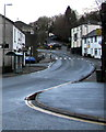 ST2194 : North along High Street, Abercarn by Jaggery