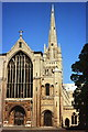 TG2308 : Norwich Cathedral by Jeff Buck