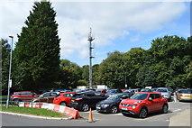 TQ3939 : Car park, Queen Victoria Hospital by N Chadwick
