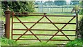 ST8180 : Old Farm Gate, Acton Turville, Gloucestershire 2011 by Ray Bird