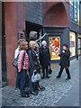 SJ3490 : Cilla at The Cavern Club, Mathew Street by Karl and Ali