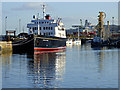 NS2975 : Hebridean Princess at James Watt Dock by Thomas Nugent