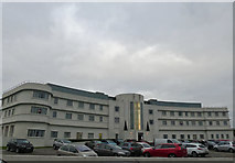 SD4264 : The iconic Art Deco Midland Hotel Morecambe by Steve  Fareham