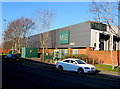 ST3486 : Central Avenue side of M&S in Newport Retail Park by Jaggery