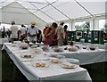 TQ7817 : Cake and jam at village fete by Patrick Roper