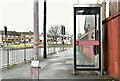 J4974 : Telephone box, Zion Place, Newtownards (January 2017) by Albert Bridge