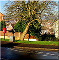 ST3090 : Queen Elizabeth II postbox and a drop box on a Malpas corner, Newport by Jaggery