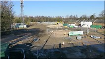 SK4933 : Construction on the gasworks by David Lally