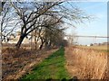 SE9720 : Footpath beside the Cemex Plant by Graham Hogg