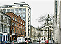 J3373 : Hotel extension, Linenhall Street, Belfast (January 2017) by Albert Bridge