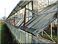 TG2809 : 1950s greenhouse (ventilation windows) by Evelyn Simak
