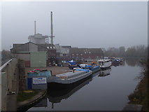 SE5023 : Harkers Wharf, Knottingley by Chris Allen