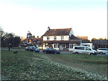 TQ4251 : Carpenters Arms, Limpsfield Chart by Malc McDonald