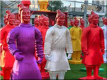 SJ8398 : Chinese Guards Outside Selfridges by David Dixon