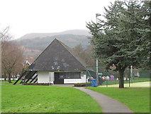 J3731 : Sports Pavilion in Islands Park, Newcastle by Eric Jones