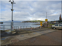 NS2059 : Largs slipway by Thomas Nugent