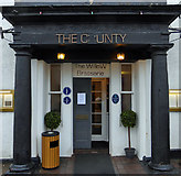 NT4728 : The C*unty Hotel, Selkirk by Walter Baxter