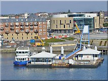 NZ3567 : South Shields - Passenger Ferry Terminal by Colin Smith