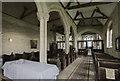 SK8059 : Interior, St Giles' church, Holme by Julian P Guffogg