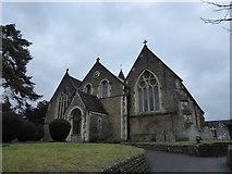 TQ0044 : Holy Trinity, Bramley: early February 2017 by Basher Eyre