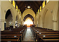 TQ2772 : Holy Trinity, Upper Tooting - East end by John Salmon