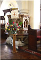 TQ2772 : Holy Trinity, Upper Tooting - Pulpit by John Salmon