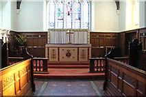 TQ2772 : Holy Trinity, Upper Tooting - Sanctuary by John Salmon