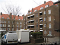 TQ3376 : Dawson House and north side of Bentley House, Glebe Estate, Camberwell, London by Robin Stott