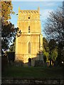 SP1921 : Church of St Laurence, Wyck Rissington by Derek Harper