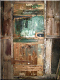 TG2909 : A colourful door by Evelyn Simak