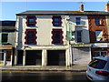 H4572 : Vacant building, Bridge Street, Omagh by Kenneth  Allen