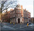 TQ3182 : Former bank building, Rosebery Avenue by Julian Osley