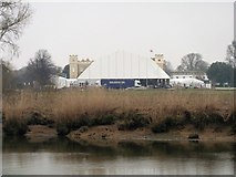 TQ1776 : Syon House (and marquee) [1] by Michael Dibb