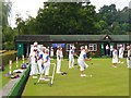 SU9644 : Godalming & Farncombe Bowling Club by Colin Smith