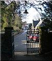SP5697 : Church Street in Blaby by Mat Fascione