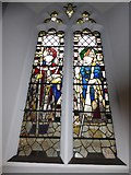 TQ0044 : Holy Trinity, Bramley: stained glass window (d) by Basher Eyre