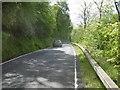 NN2803 : A814, Loch Long by Richard Webb