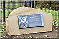 J4173 : Edward Bruce plaque, Dundonald (February 2017) by Albert Bridge