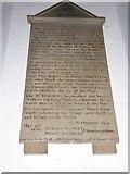 TQ0044 : Holy Trinity, Bramley: memorial (viii) by Basher Eyre