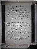 TQ0044 : Holy Trinity, Bramley: memorial (x) by Basher Eyre