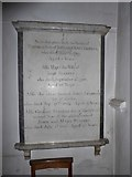 TQ0044 : Holy Trinity, Bramley: memorial (xi) by Basher Eyre